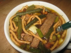 Straight from the Kitchen: Teriyaki Beef Noodle Soup