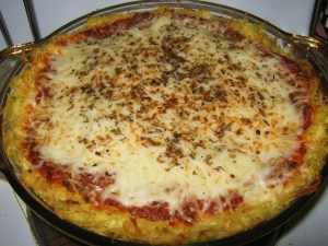 Straight from the Kitchen: Spaghetti Pie